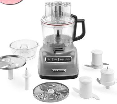 專業調理KitchenAid】專業食物調理機 9 Cup(太空銀)