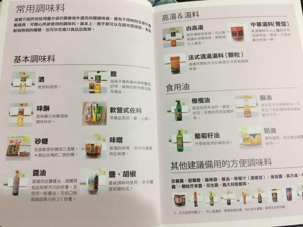冰箱常備菜常用調味料