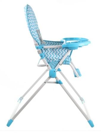 BabyBabe餐椅側面圖