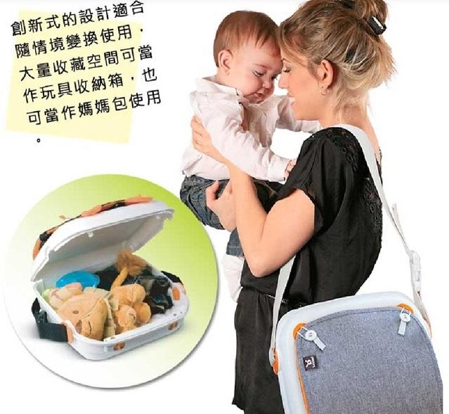 Benbat隨身攜帶餐椅能當成包包收納物品