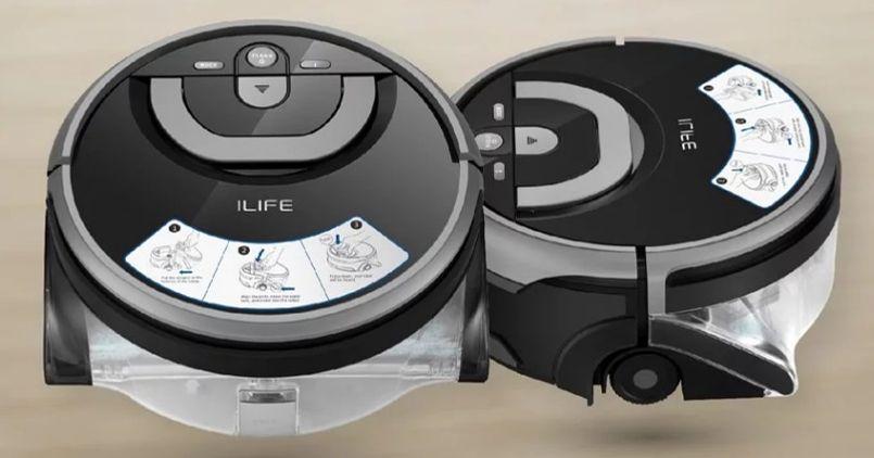 洗地機器人Ilife A9s擬人手搓掃拖機器人正面照