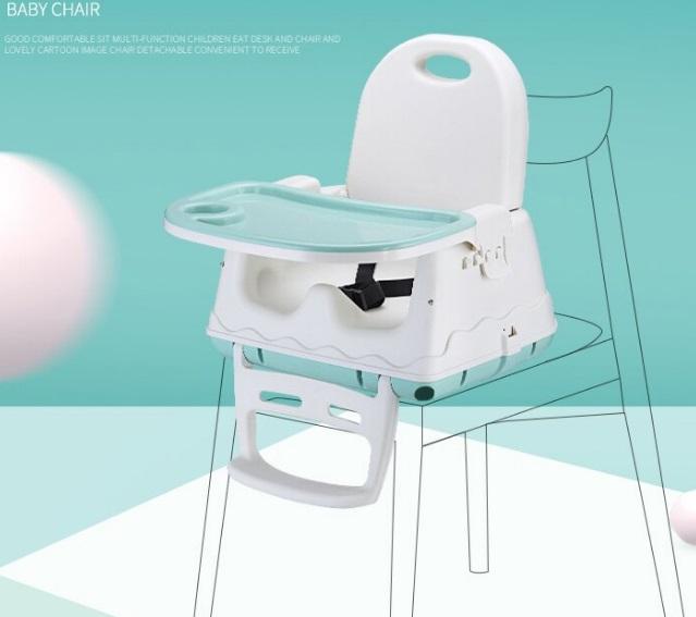 便攜式高腳餐椅放在成人椅子