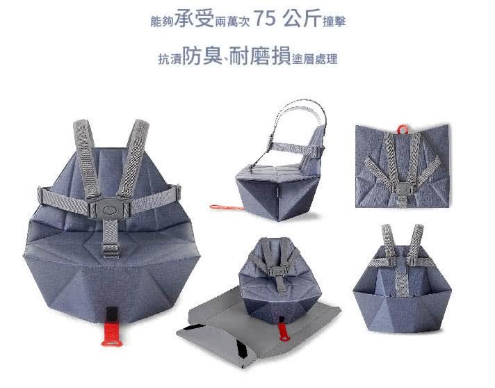 bombol 小餐椅使用方式意示圖