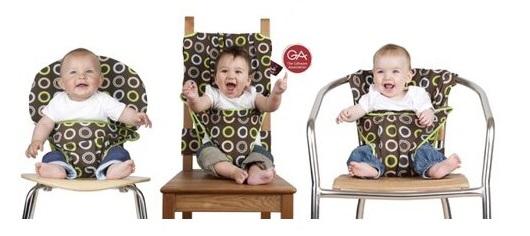 totseat隨身攜帶餐帶各式椅子都可以用