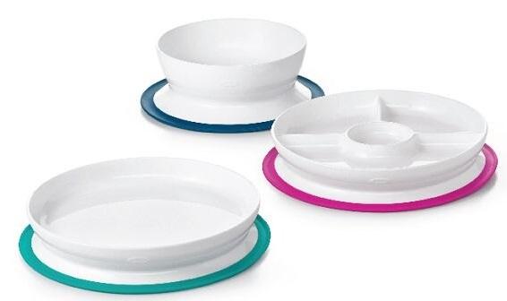 美國 OXO tot 好吸力分隔餐盤|吸盤|餐具 (三款可選)